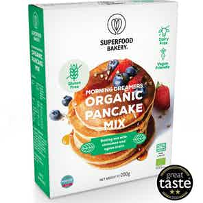 Morning Dreamers Organic Pancake Mix from Superfood Bakery in Baking, Food & Drink