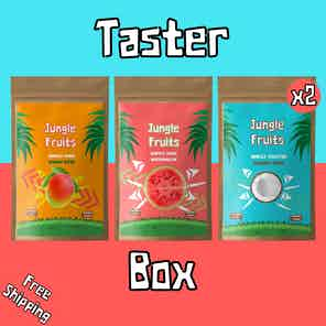 Exotic Dried Fruit Mix, Taster Boxes from Jungle Fruits in Snacks & Treats, Food & Drink