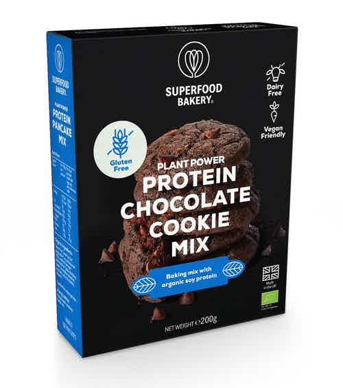 Plant Power Protein Chocolate Cookie Mix from Superfood Bakery in Baking, Food & Drink