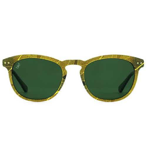Pluma | Green from Bird Sunglasses in Eyewear , Accessories
