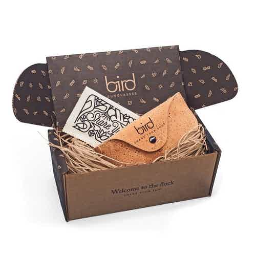 Kaka | Caramel from Bird Sunglasses in Sunglasses, Accessories
