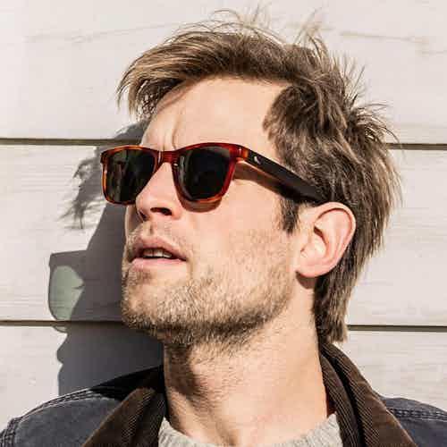 Otus | Caramel from Bird Sunglasses in Sunglasses, Accessories