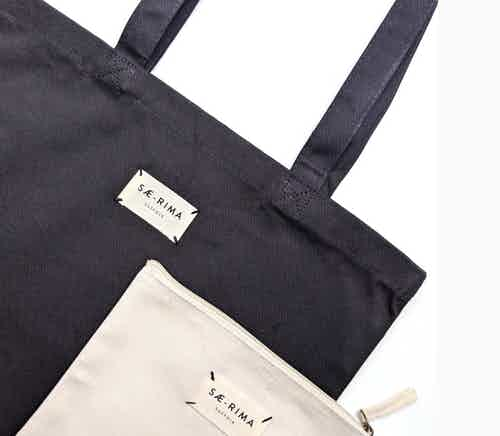 The Black Tote from Sae-Rima in Totes Shoppers, Bags