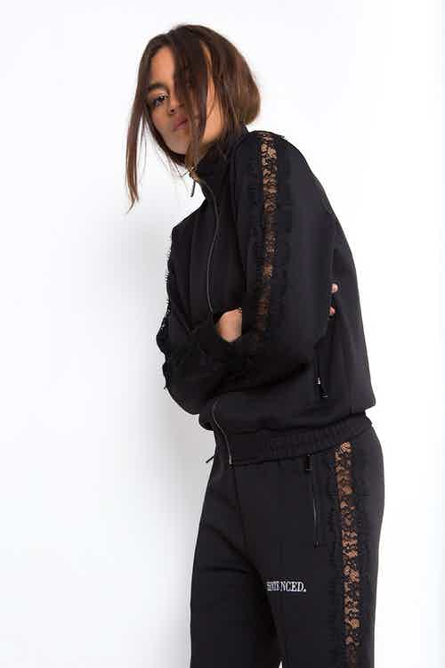 DALLAS. Lace Track Jacket from Sentenced. in Women's Fashion & Apparel,