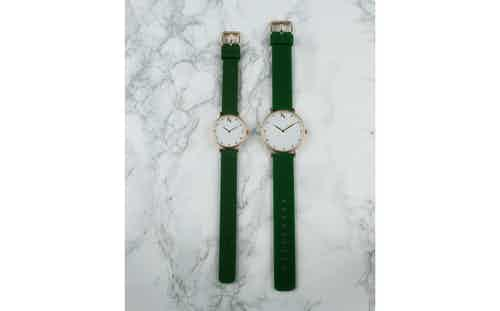 Emerald Green - Small. from Ksana Watches in Watches, Accessories