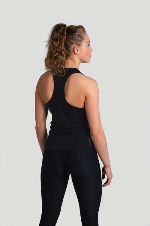 Iron Roots Eucalyptus Performance Singlet - Black from Iron Roots in Sportswear, Activewear