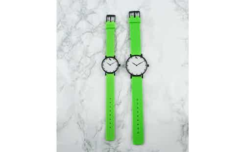 Neon Green - Large. from Ksana Watches in Watches, Accessories