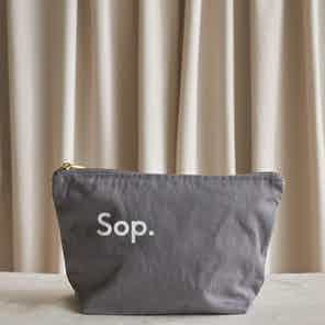 Sop Wash Bag from Sop in Wash Bags, Travel Essentials & Storage
