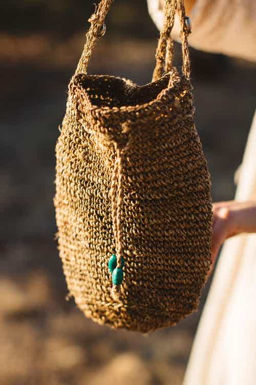 Crochet Bag 100% Hemp from Hemper Handmade in Bags, Women