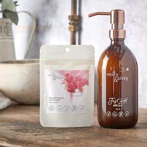 Zero Waste Sweet Cherry Hand Wash Refill from Milly & Sissy in Health & Beauty,
