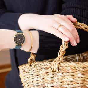 Gold & Juniper with Black | Petite from Votch in Watches, Accessories