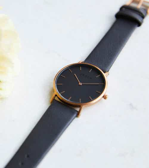 Rose Gold & Dark Grey with Black | Classic from Votch in Watches, Accessories