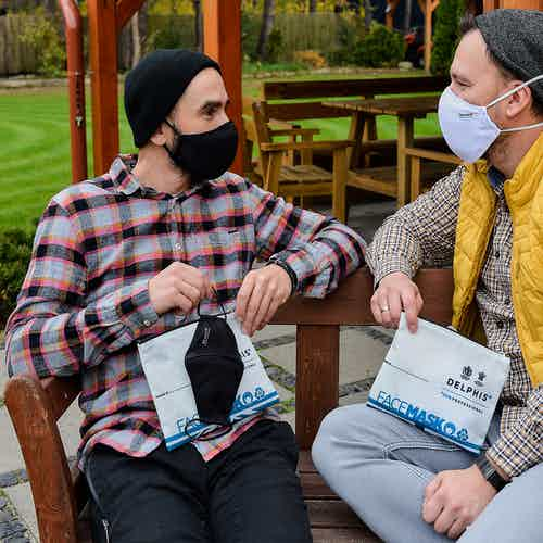 Face Masks - White from Delphis Eco in Cleaning Products, Household & Laundry