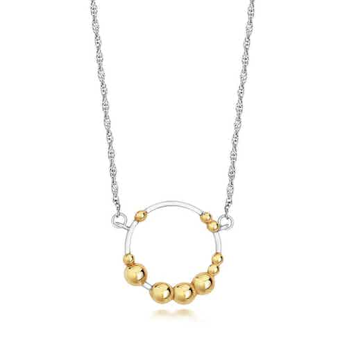 Mustard Cluster Necklace from Little by Little in Necklaces, Jewellery