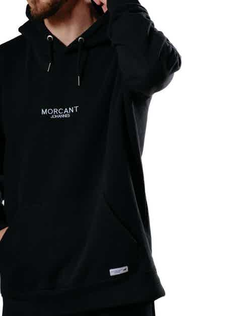 Organic Hoodie - Black from Morcant in Women,
