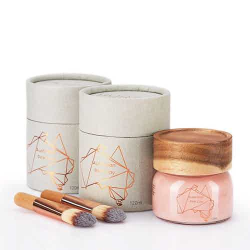 Australian Pink Clay Mask Double Bundle 120ml x 2 from Hurtig Lane in Face, Skincare