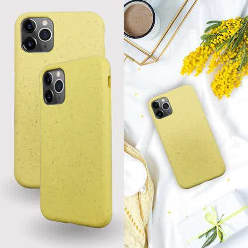 Eco Friendly Yellow iPhone 11 Pro Case from Uunique London in Phone Cases, Electronics