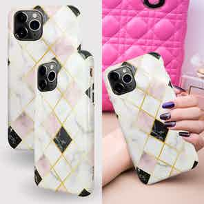 Eco Friendly Printed White Marble iPhone 11 Pro Case from Uunique London in Phone Cases, Electronics