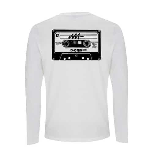 Mens MixTape Rewind Long-Sleeve T-Shirt from Audio Architect Apparel in Men,