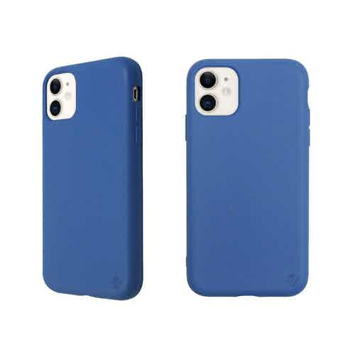 Eco Friendly Blue iPhone 11 Case from Uunique London in Phone Cases, Electronics