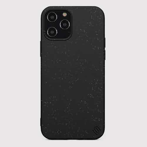 Eco Friendly Black iPhone 12 Pro Max Case from Uunique London in Phone Cases, Electronics