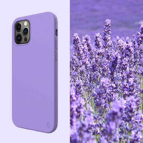 Eco Friendly Purple iPhone 12 Pro Max Case from Uunique London in Apple, Phone Cases