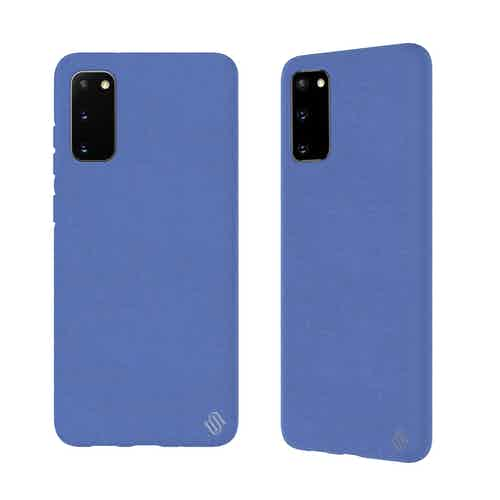Eco Friendly Blue Samsung Galaxy S20 Case from Uunique London in Phone Cases, Electronics