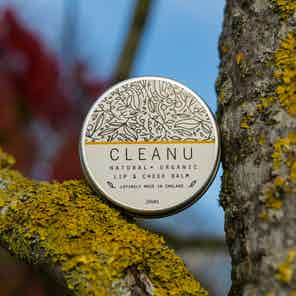 Sunflower & Sesame Vegan Lip Cheek Balm from Clean U Skincare in Lips, Skincare