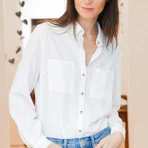 White Kauri shirt from Avani in Tops, Women