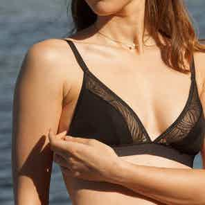 Black Savannah Bra from Olly in Underwear, Women