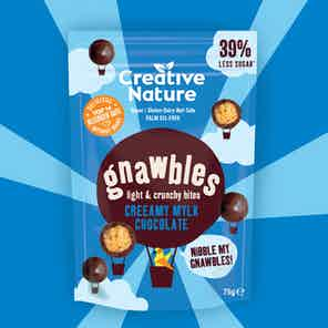 Creeamy Mylk Choc Crunchy Gnawbles Share Bag from Creative Nature in Snacks & Treats, Food