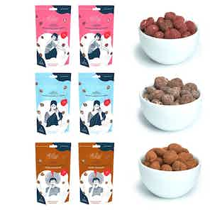 Oh Lily! Chocolate snack box (x6) from Oh Lily Snacks in Bites, Chocolate