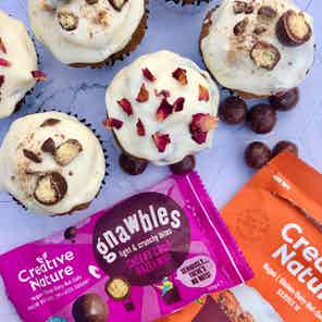 Cheeky Choc HazelNOT Light & Crunchy Gnawbles x 15 from Creative Nature in Snacks & Treats, Food