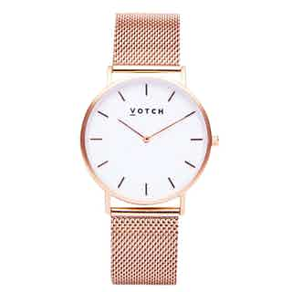 Rose Gold & Rose Gold | Mesh Classic from Votch in Watches, Accessories