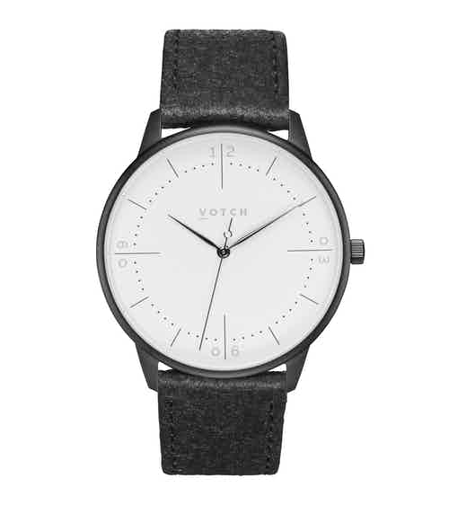 Black & Piñatex   Aalto from Votch in Watches, Accessories