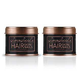 HAIR, SKIN & NAILS SUPPLEMENT (2) from SuperFoodLx in Haircare, Health & Beauty