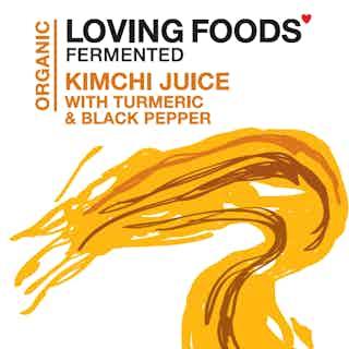 Organic Kimchi Juice - Turmeric & Black Pepper from Loving Foods in Fermented Food & Drinks, Health Foods