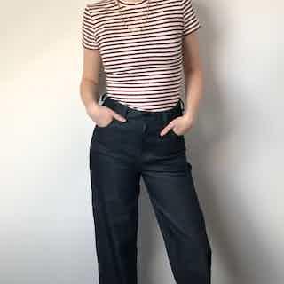 Organic Denim Straight Leg Jeans from Rozenbroek in Jeans, Bottoms