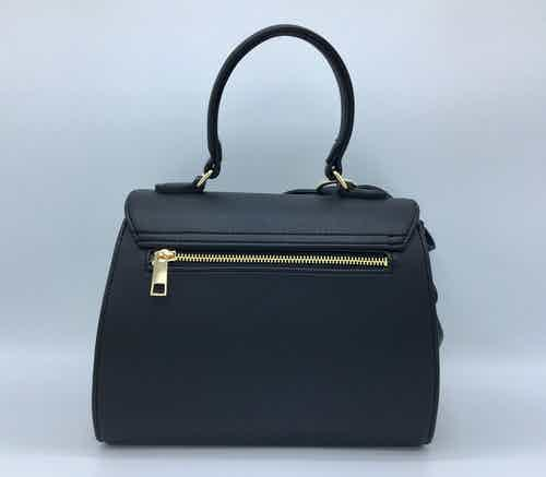 Cottontail - Black Vegan Leather Bag from GUNAS New York in Shoulder Bags, Bags
