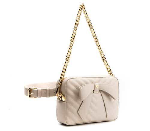 Chloe - Off-white Vegan Multi-wear Bag from GUNAS New York in Bags, Women