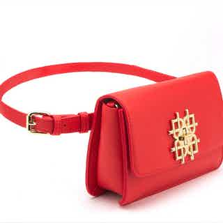 Maisie - Red Multi-wear Vegan Bag from GUNAS New York in Bags, Women