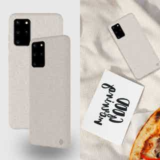 Eco Friendly White Samsung Galaxy S20+ Case from Uunique London in Phone Cases, Electronics