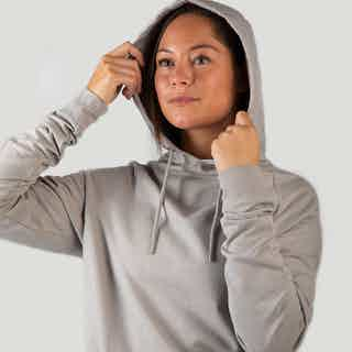 Iron Roots Unisex Hemp Performance Hoodie - Sand Grey from Iron Roots in Sportswear, Activewear