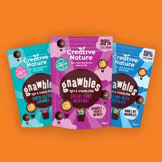 Gnawbles Share Bags Taster Pack from Creative Nature in Boxes & Hampers, Food & Drink