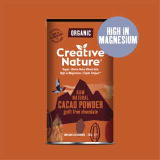 Organic Cacao Powder from Creative Nature in Superfoods, Health Foods