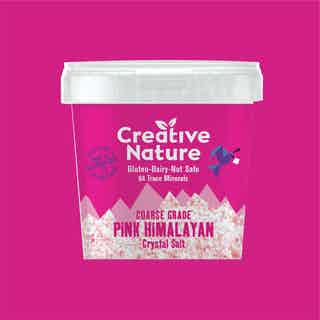 Pink Himalayan Crystal Salt from Creative Nature in Seasoning, Condiments
