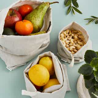 Luxury Linen Produce Bags from Tabitha Eve in Kitchen, Home