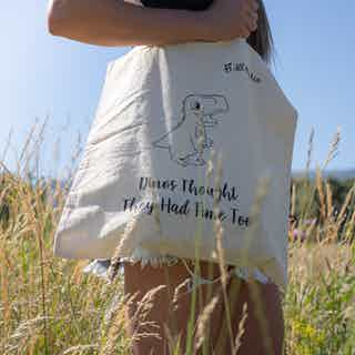 Tote bag 2-pack: Dinos & Voldemort from All My Eco in Totes Shoppers, Bags