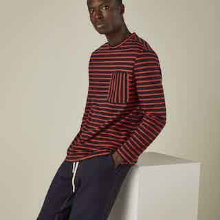 100% Cotton long sleeve T-shirt from Cut & Pin in Men,
