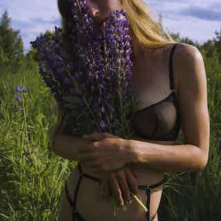 Nikita Suspender Strap from Aurore Lingerie in Suspenders, Underwear